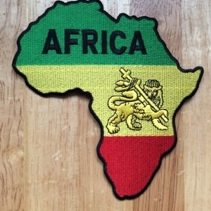 Africa Lion flag patch
