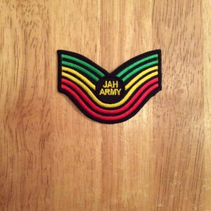 Jah Army wing patch