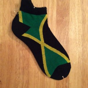 Jamaica flag ankle/trainer sock