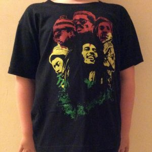 Bob Marley and The Wailers youth tshirt