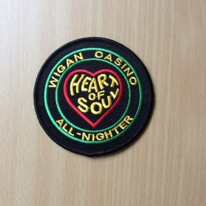Wigan Casino Iron on Patch