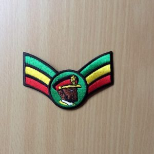 Haile Selassie Military patch