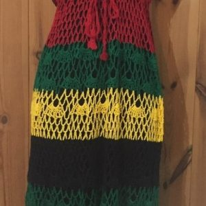 Knitted Rasta Dress - Style 3