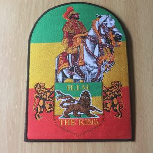 H.I.M The King patch