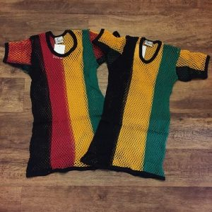 Rasta and Jamaican String Tee
